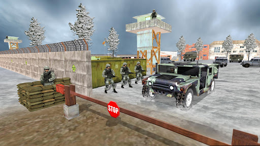 Off-road Jeep Drive-Winter Season Simulator 1.7 screenshots 3