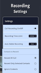 Automatic Call Recorder Latest (ACR) Screenshot