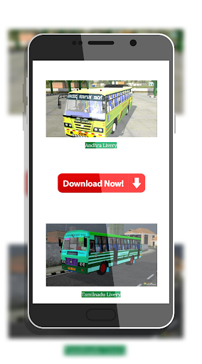 Tamil Bus Mod Livery | Indonesia Bus Simulator  screenshots 1
