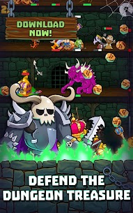 Idle Dungeon Heroes MOD (Unlimited Gems/Souls) 1