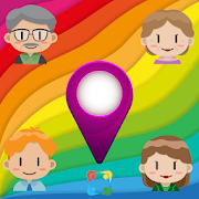 Family Locator GPS Tracker Child - Voice Chat