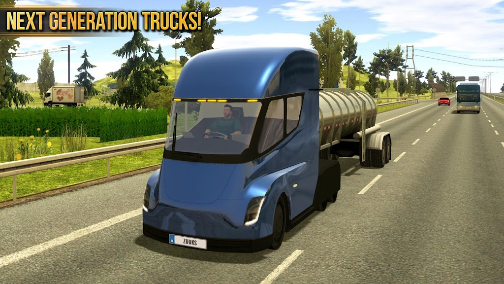 Truck Simulator 2018 : Europe poster 5