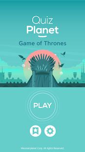 QUIZ PLANET - Game Of Thrones!