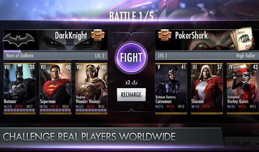 Injustice: Gods Among Us Mod APK Download 3.3.1 (Unlimited Money) 4
