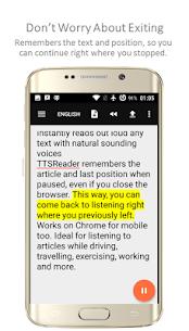 TTSReader PRO – Text To Speech MOD APK 3