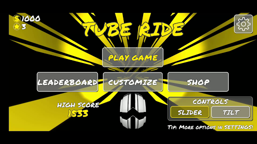 tube ride screenshot 1