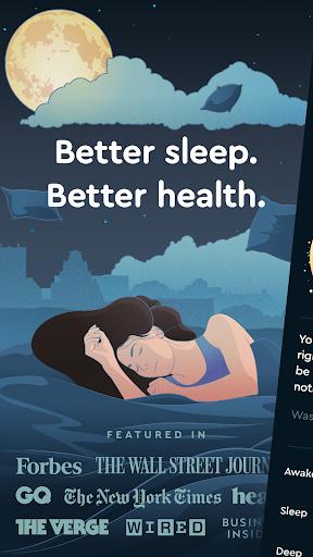 Sleep Cycle: Sleep analysis & Smart alarm clock modavailable screenshots 1