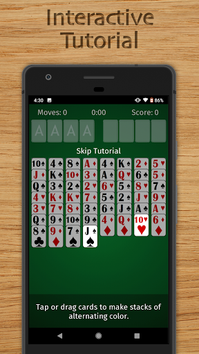 FreeCell Solitaire Free - Classic Card Game  screenshots 5