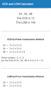 GCD and LCM Calculator For Pc, Windows 10/8/7 And Mac – Free Download 2
