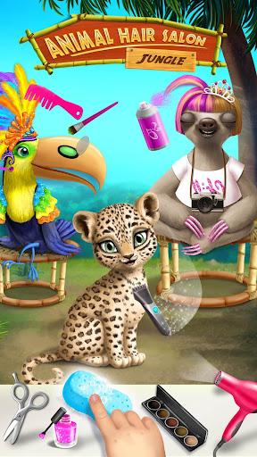 Jungle Animal Hair Salon - Styling Game for Kids 4.0.10018 screenshots 2
