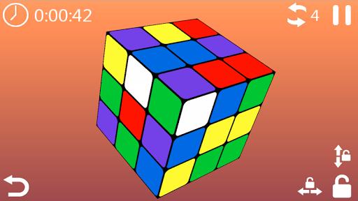 cube puzzle 3d 3x3 screenshot 3