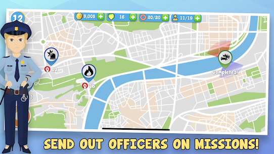 Police Inc Mod Apk: Tycoon police station builder (Unlimited Money) 2