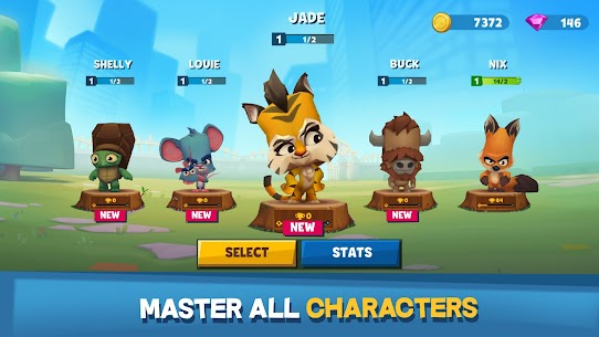 Zooba: Free-for-all Zoo Combat Battle Royale Games Mod 2.18.3 Apk [Unlimited Skills] 4