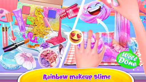Bubble Balloon Makeup Slime  - Slime Simulator  screenshots 3