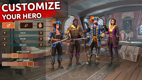 Mutiny: Pirate Survival RPG MOD APK (Unlimited Everything) 2