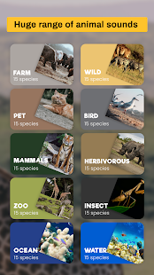 Image For Free animal sounds: real animal noises & pictures Versi 1.0 1
