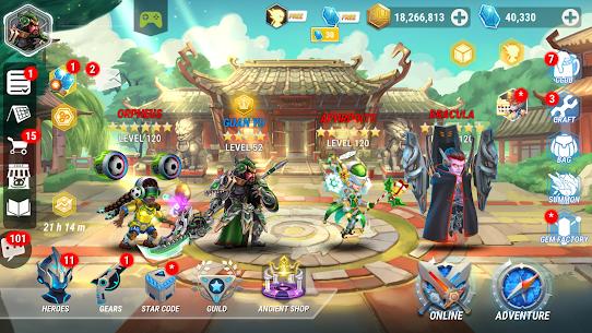 Baixar Heroes Infinity MOD APK 1.34.01 – {Versão atualizada} 1