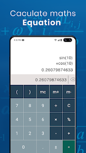 Math Scanner von Photo Screenshot