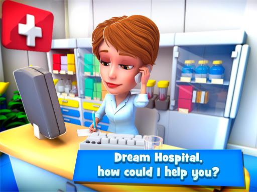 Dream Hospital - Health Care Manager Simulator apkpoly screenshots 9