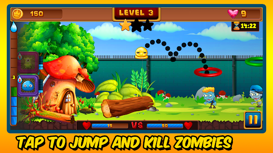 Zombies vs Basketball: A Survival Game Screenshot