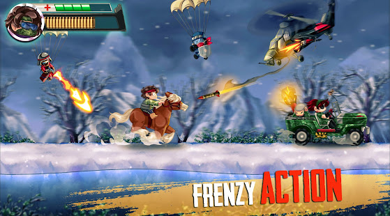 Ramboat 2 - Run and Gun Offline FREE dash game 2.0.9 Screenshots 2