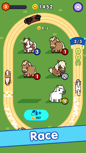 Idle Horse Racing APK MOD – Monnaie Illimitées (Astuce) screenshots hack proof 2