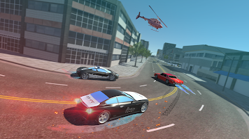 Police Car Drift Driving Simulator