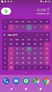 Calendar Widget KEY 4