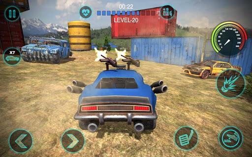 Champ de bataille de voiture de joueur APK MOD – Pièces de Monnaie Illimitées (Astuce) screenshots hack proof 1