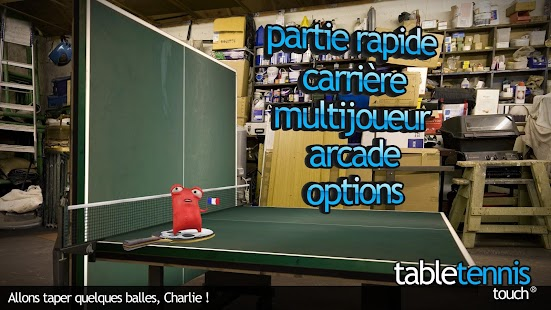 Table Tennis Touch Capture d'écran