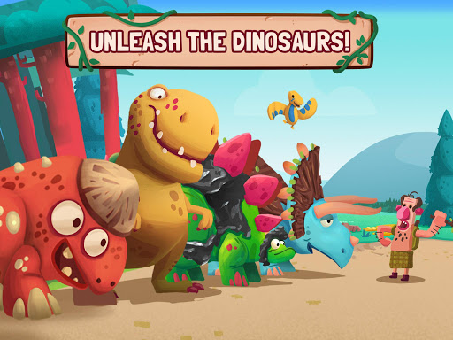 Dino Bash - Dinosaurs v Cavemen Tower Defense Wars 1.3.10 Screenshots 2
