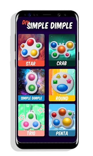 DIY Simple Dimple! Pop It Fidget Toys Set apktreat screenshots 1