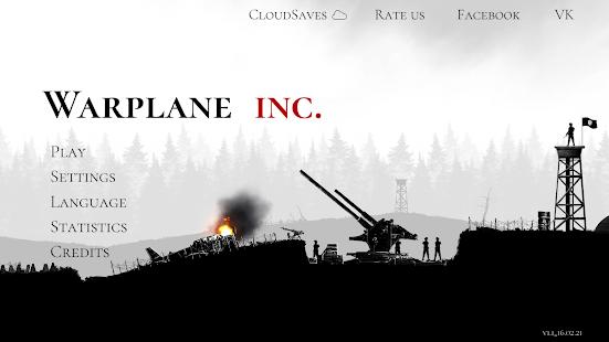 Warplane Inc mod apk