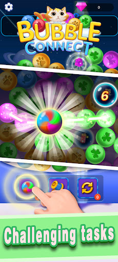 Bubble Connect - bubble match and puzzle game  screenshots 2