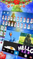 Holy Christmas Keyboard Theme