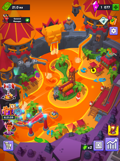 Hell Park - Tycoon Simulator Apkfinish screenshots 14
