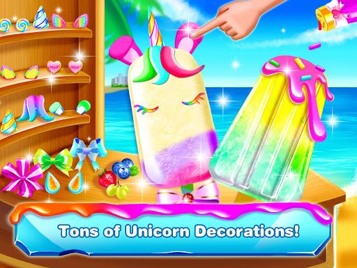 Unicorn Icepop - Ice Popsicle Mania apktram screenshots 4