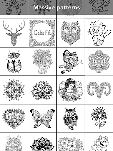 Coloring Book for family 3.2.1 screenshots 2