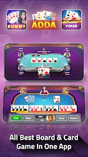 Adda : Rummy , 29 card game , 3 Patti , CallBreak 10.98 screenshots 2