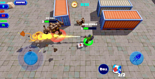 Heroes Strike PvP: MOBA and Battle Royale modavailable screenshots 1
