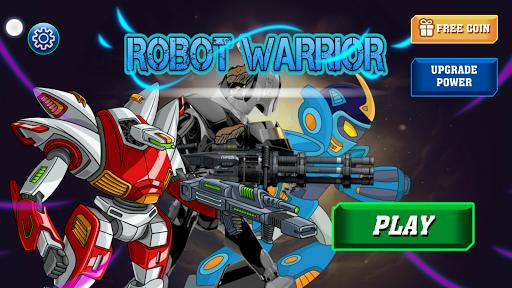 Robot Warrior Apkfinish screenshots 9
