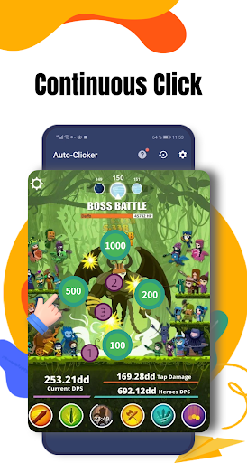 Auto Clicker 2021 - Automatic tap app for games apktram screenshots 3
