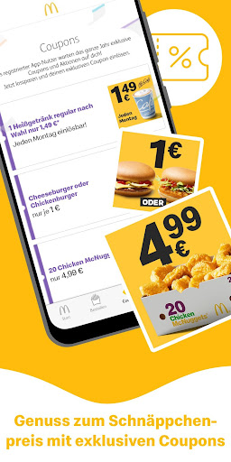 McDonaldu2019s Deutschland - Coupons & Aktionen 7.0.0.50257 screenshots 2