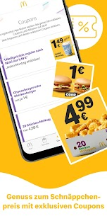 McDonald's Deutschland – Coupons & Aktionen 7.1.2.50463 APK Mod Updated 2