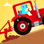 Dinosaur Farm - Tractor simulator games for kids