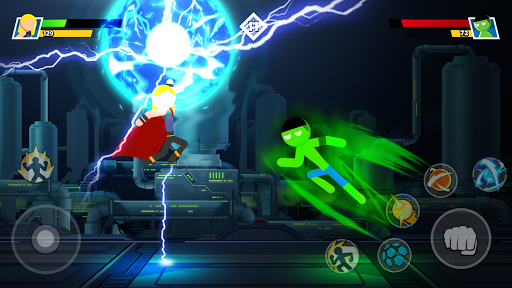 Stickman Combat - Superhero Fighter 2.3 screenshots 3