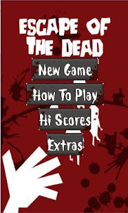 Escape of the dead