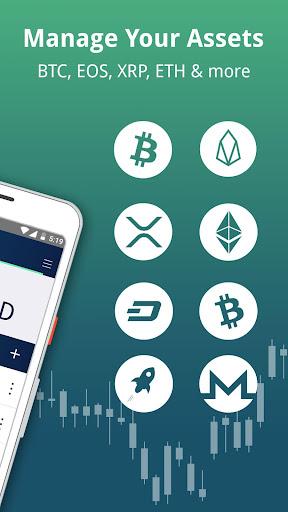Edge - Bitcoin, Ethereum, Monero, Ripple Wallet  Screenshots 7