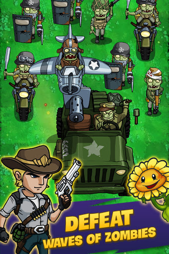 Zombie War: Idle Defense Game apkslow screenshots 17