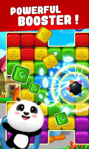 toon cat match - puzzle blast screenshot 2